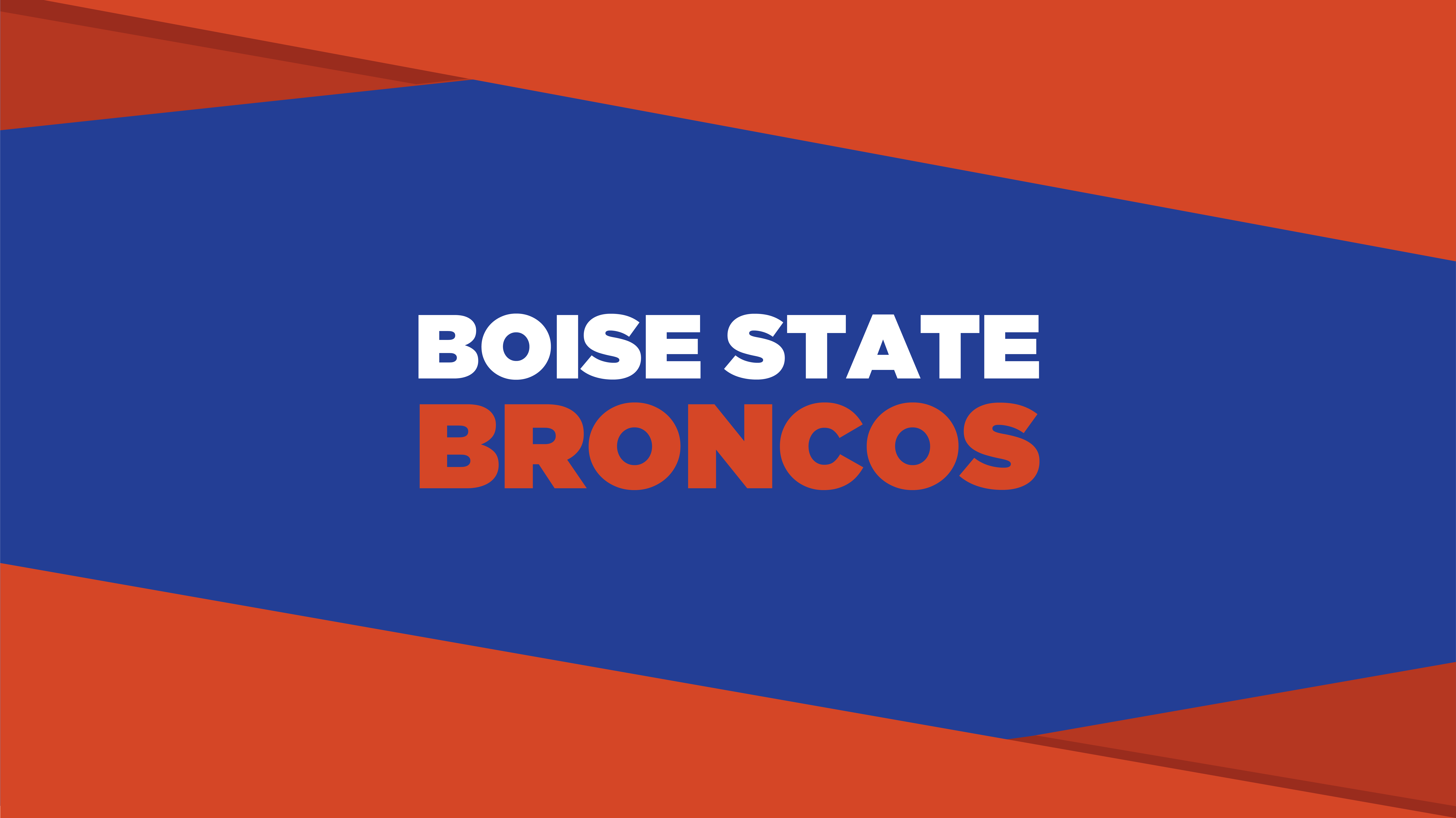 Boise State Broncos Blue and Orange Wallpaper