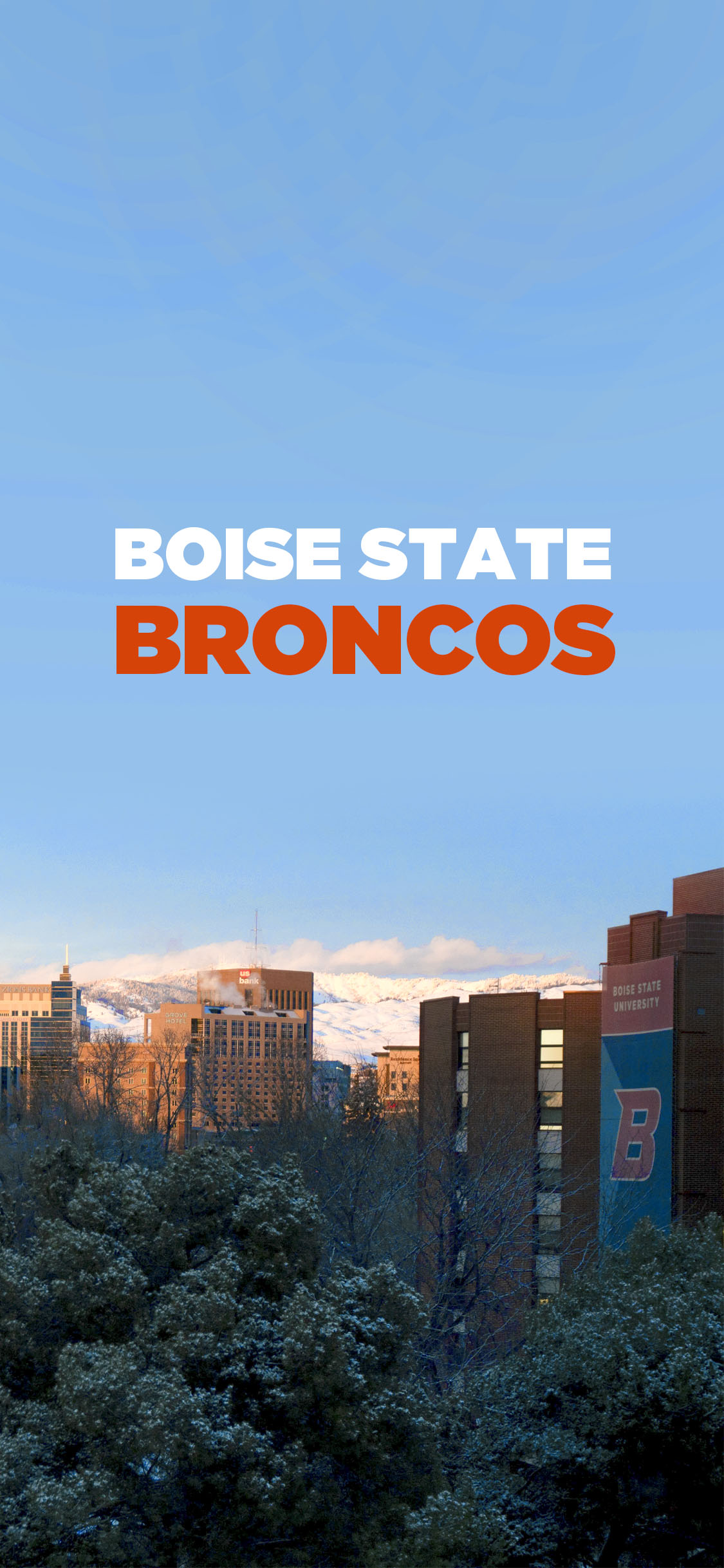 Boise State Broncos Campus Wallpaper