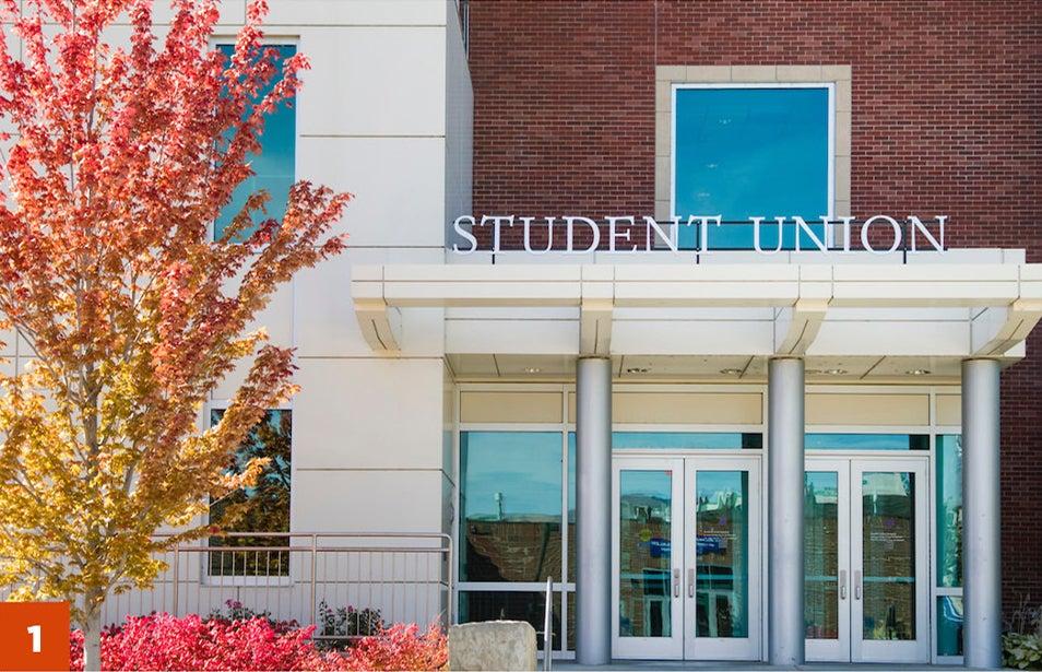 Stop 1 - Student Union Building