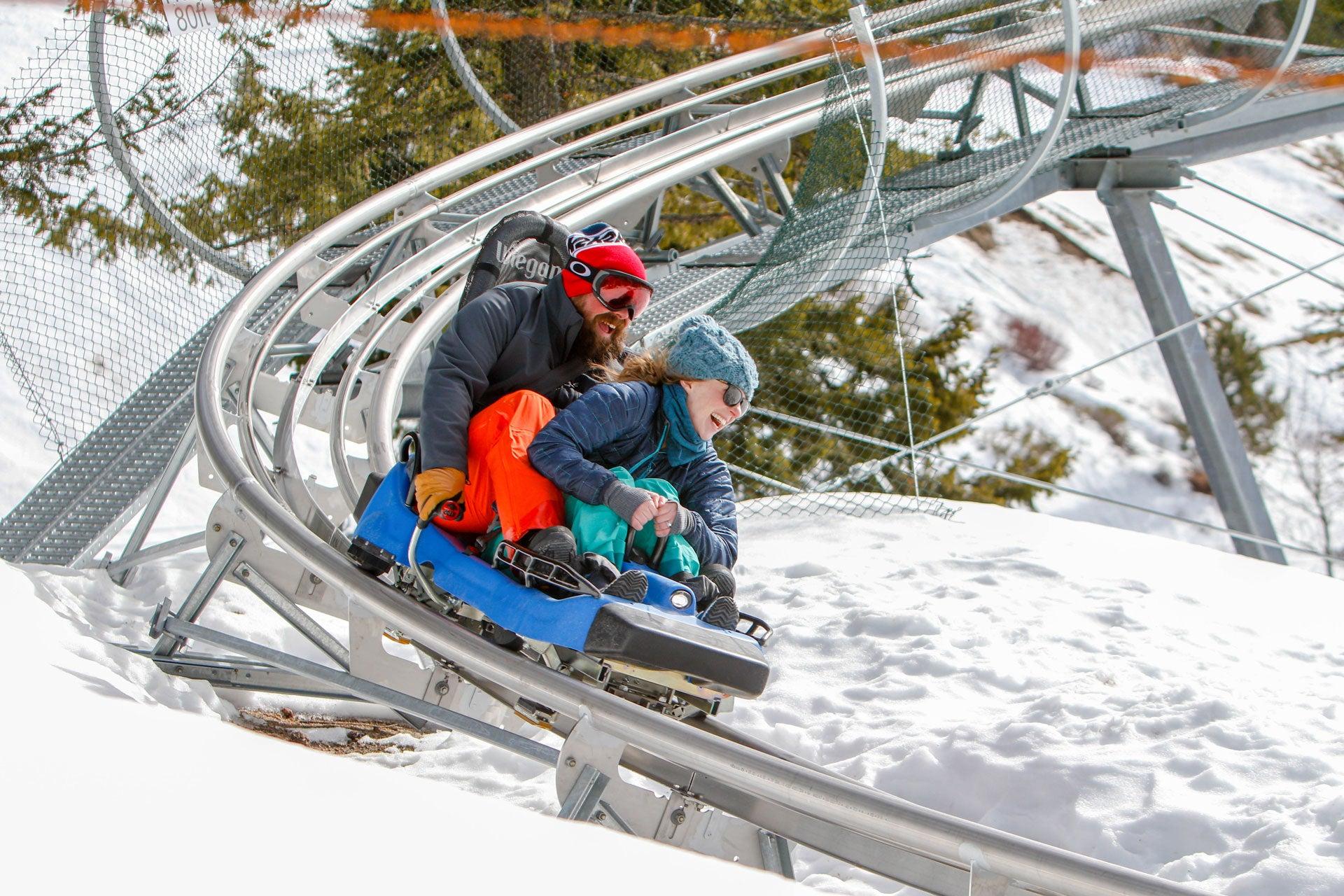 Mountain Coaster at Bogus Basin