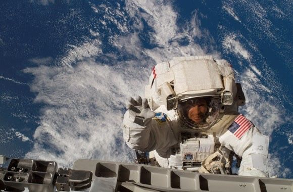Steve Swanson in Space
