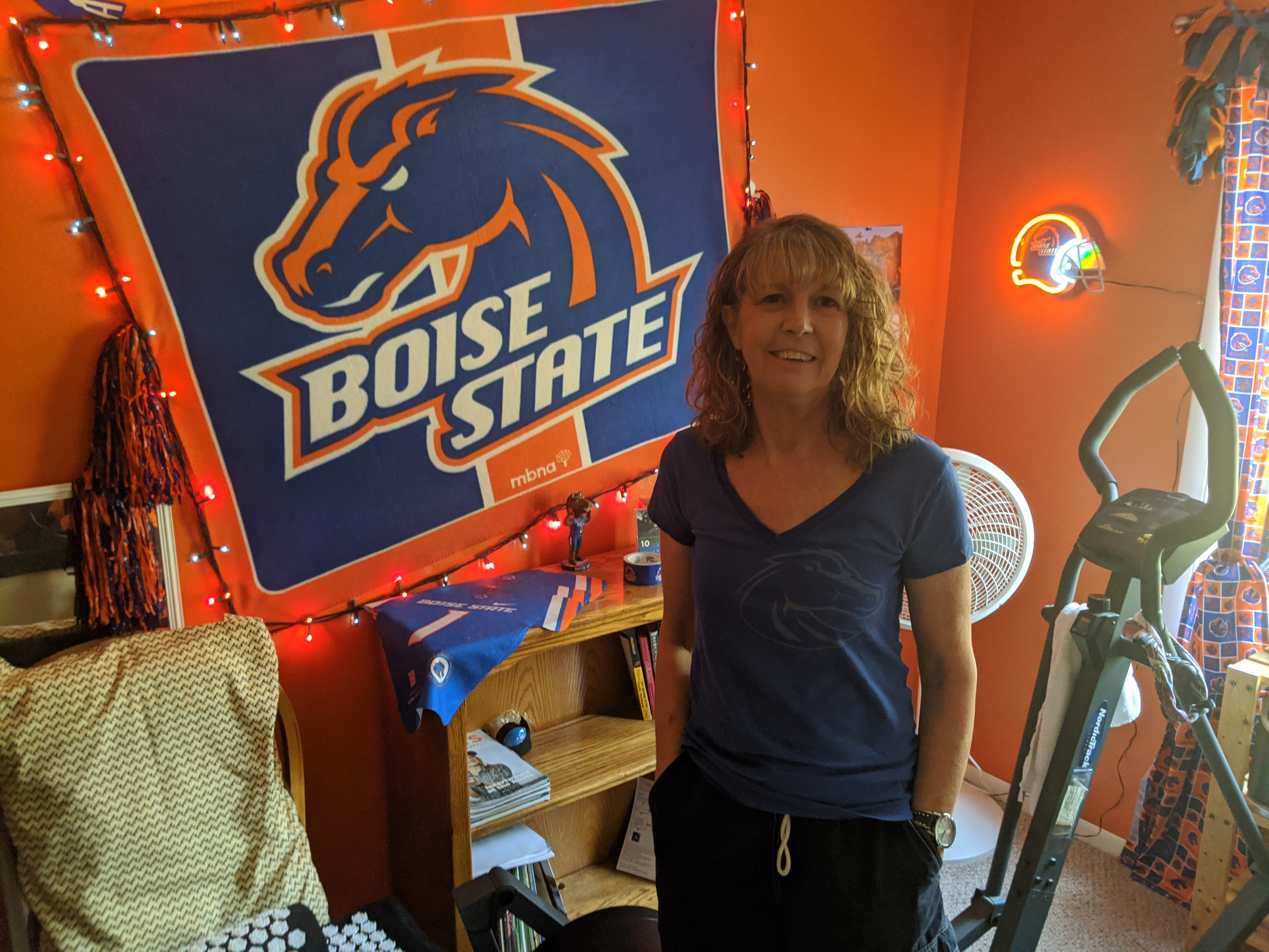 Boise State Virtual Race Finisher