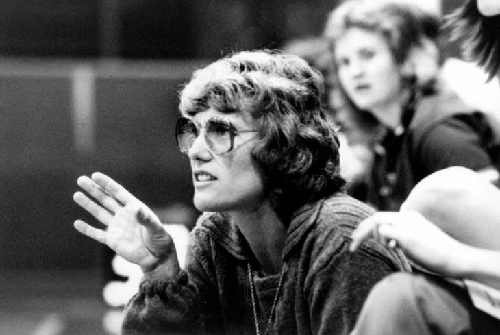 1970s Connie Thorngren women_s basketball coach
