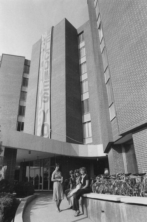 1970s: Towers Residence Hall