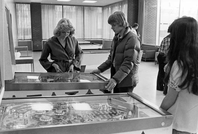 1970s: Residence Hall Pinball