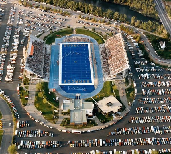 1980s Bronco Stadium 1988