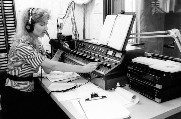 1980s KBSU Radio Station 1987