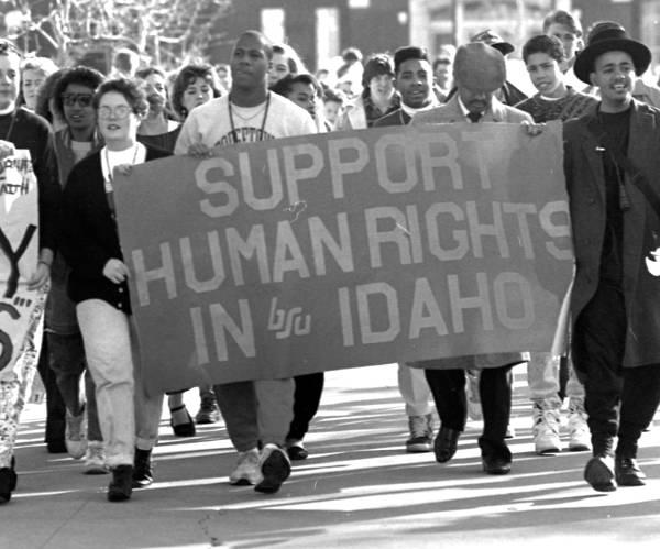 1990s MLK Day celebration