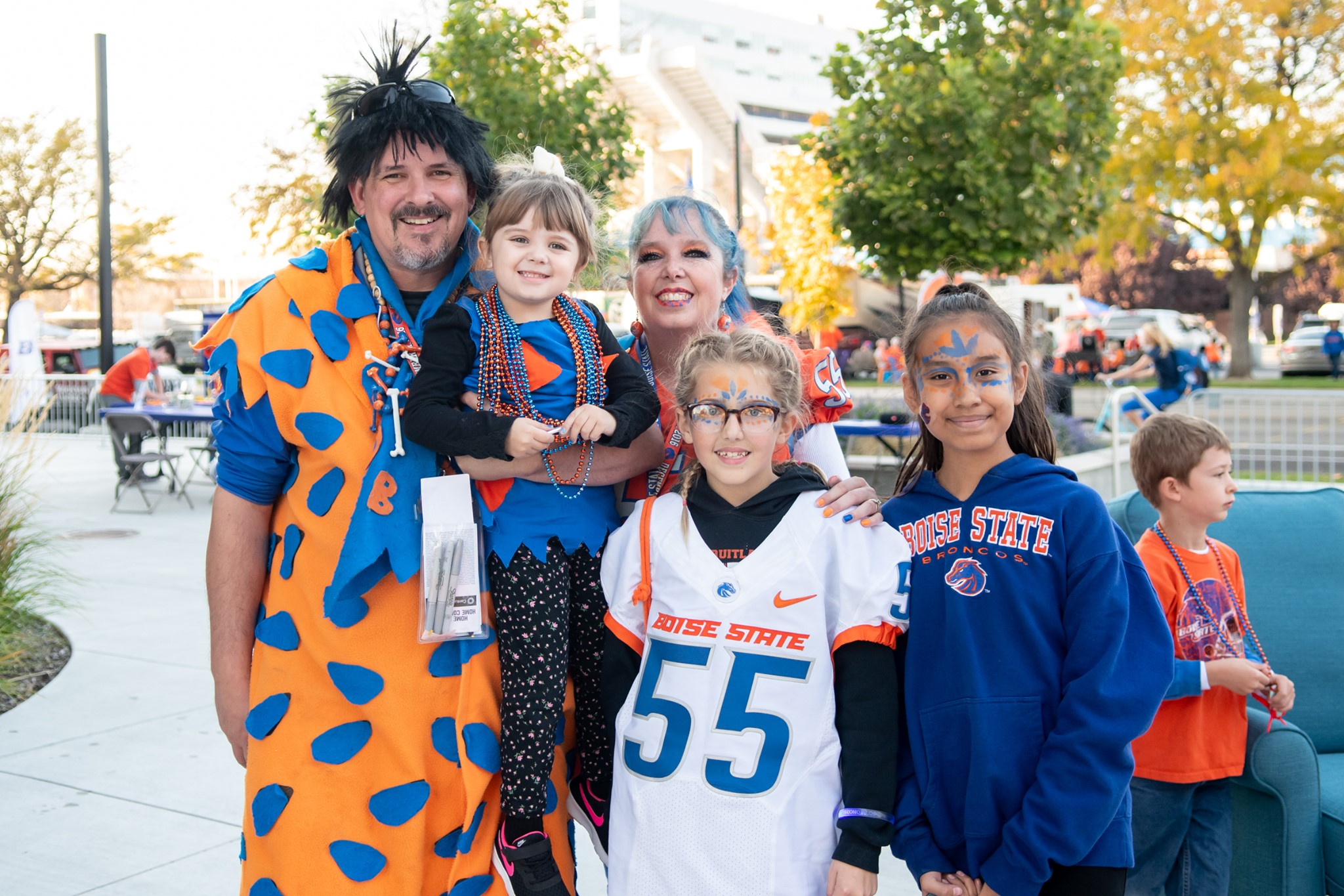 boise state family of fans