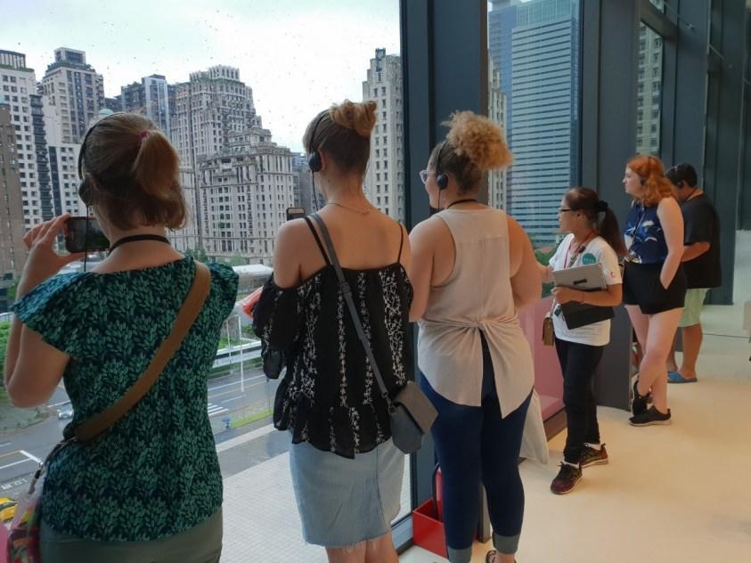 group viewing Taichung