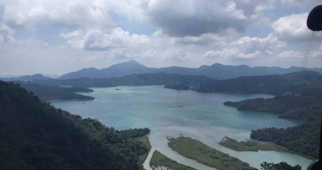 View of Sun Moon Lake
