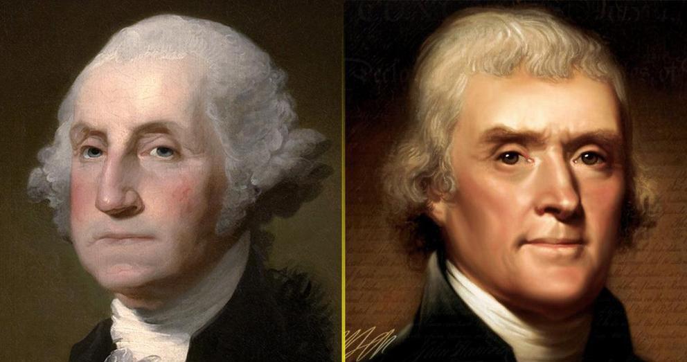 Washington and Jefferson