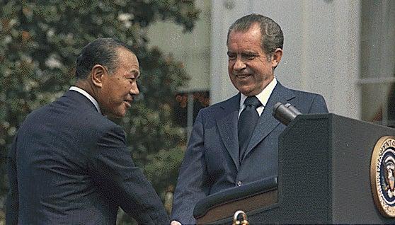 Tanaka and Nixon