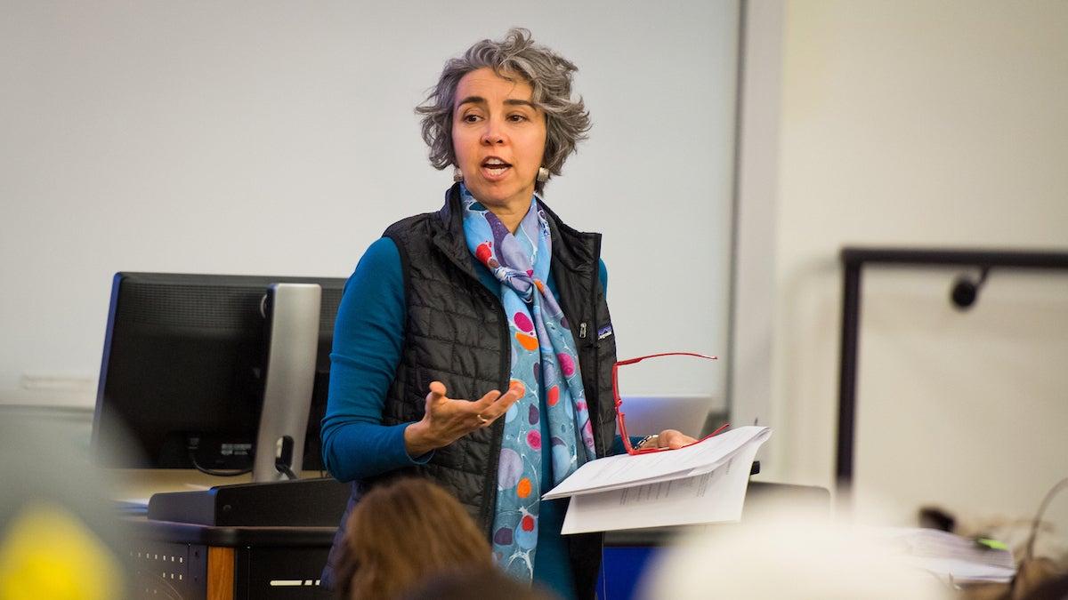 Dr. Susan Shadle, Chemistry, Professor of the Year. John Kelly photo.