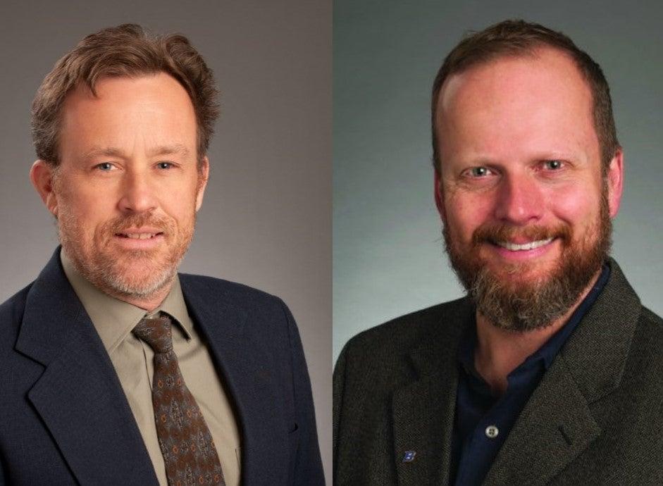 Headshots of James McNamara and Mark Schmitz