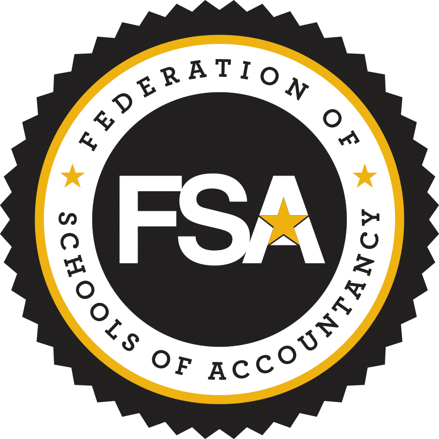 Federation of Schools of Accountancy color seal