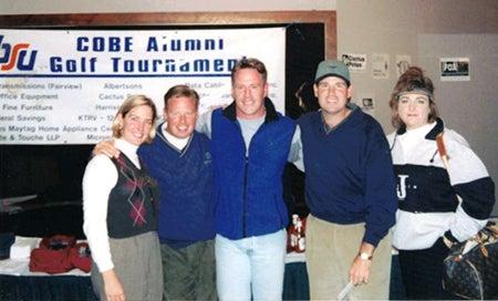 Eagle Hills Course 1996 Stephanie Churchman, Kevin Churchman, Phil Bartle, Carey McNeal, Carla Luchi