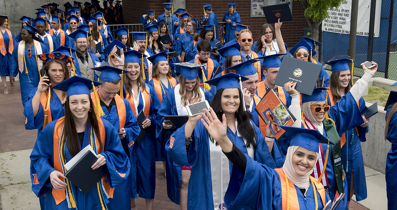 Boise State Spring Commencement