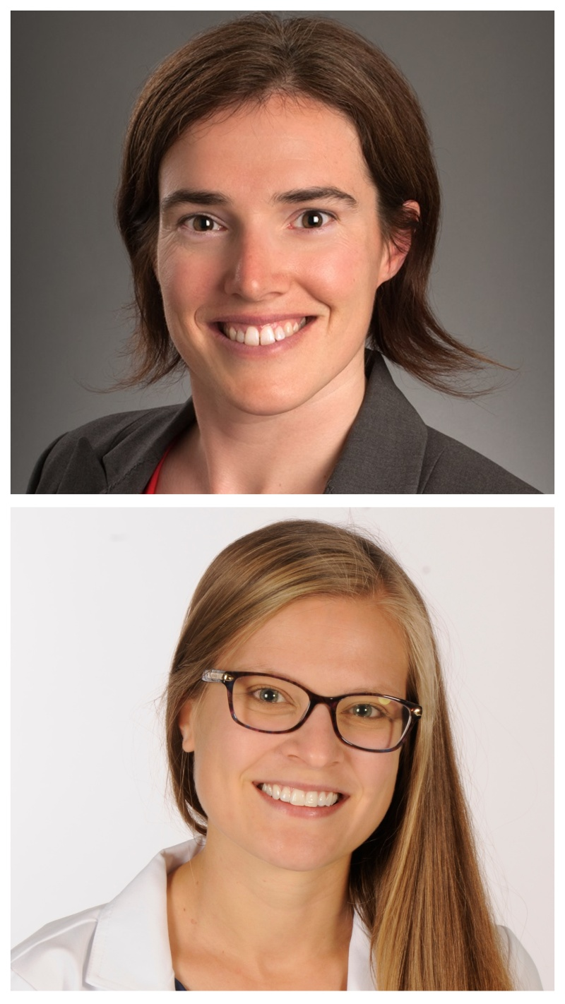 Dr. Clare Fitzpatrick and Dr. Erin Mannen