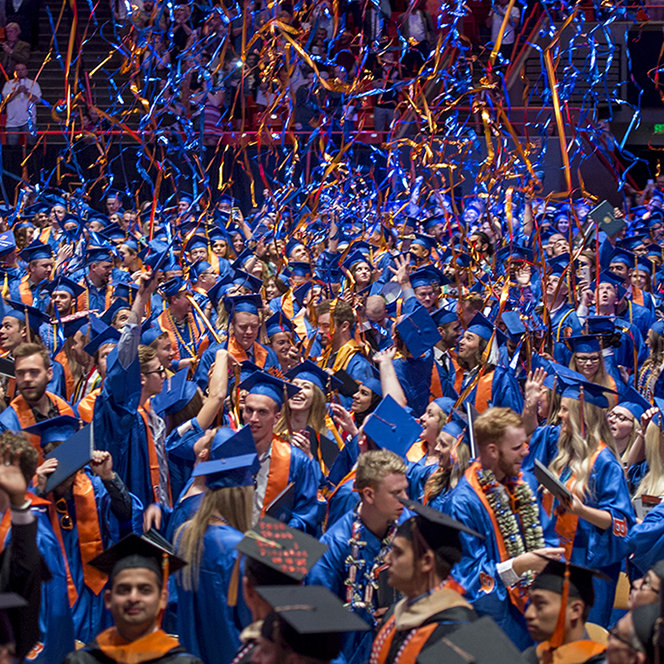 Boise State Spring Commencement,