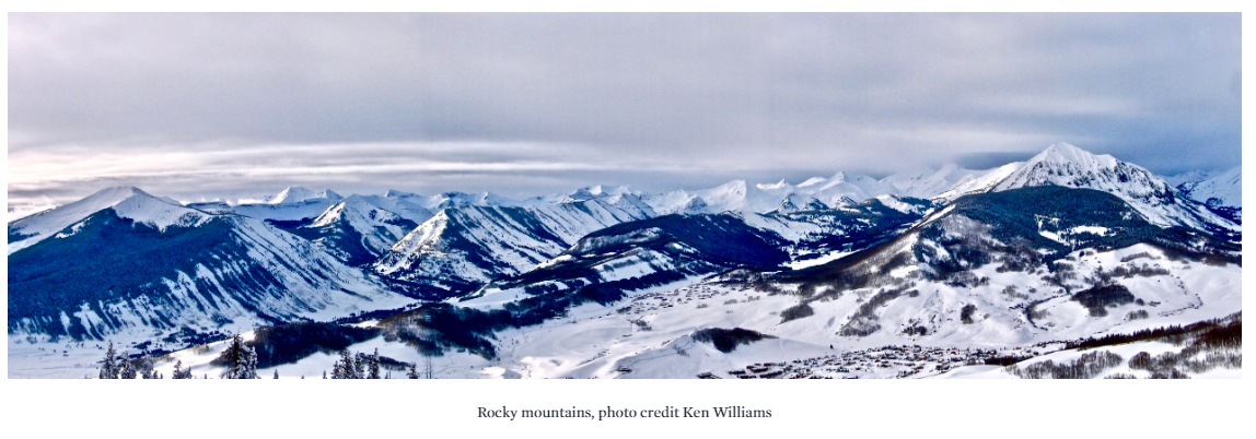 Rocky Mountains- by Ken Williams