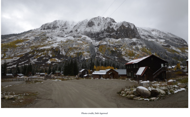 Mountain town- by Deb Agarwal