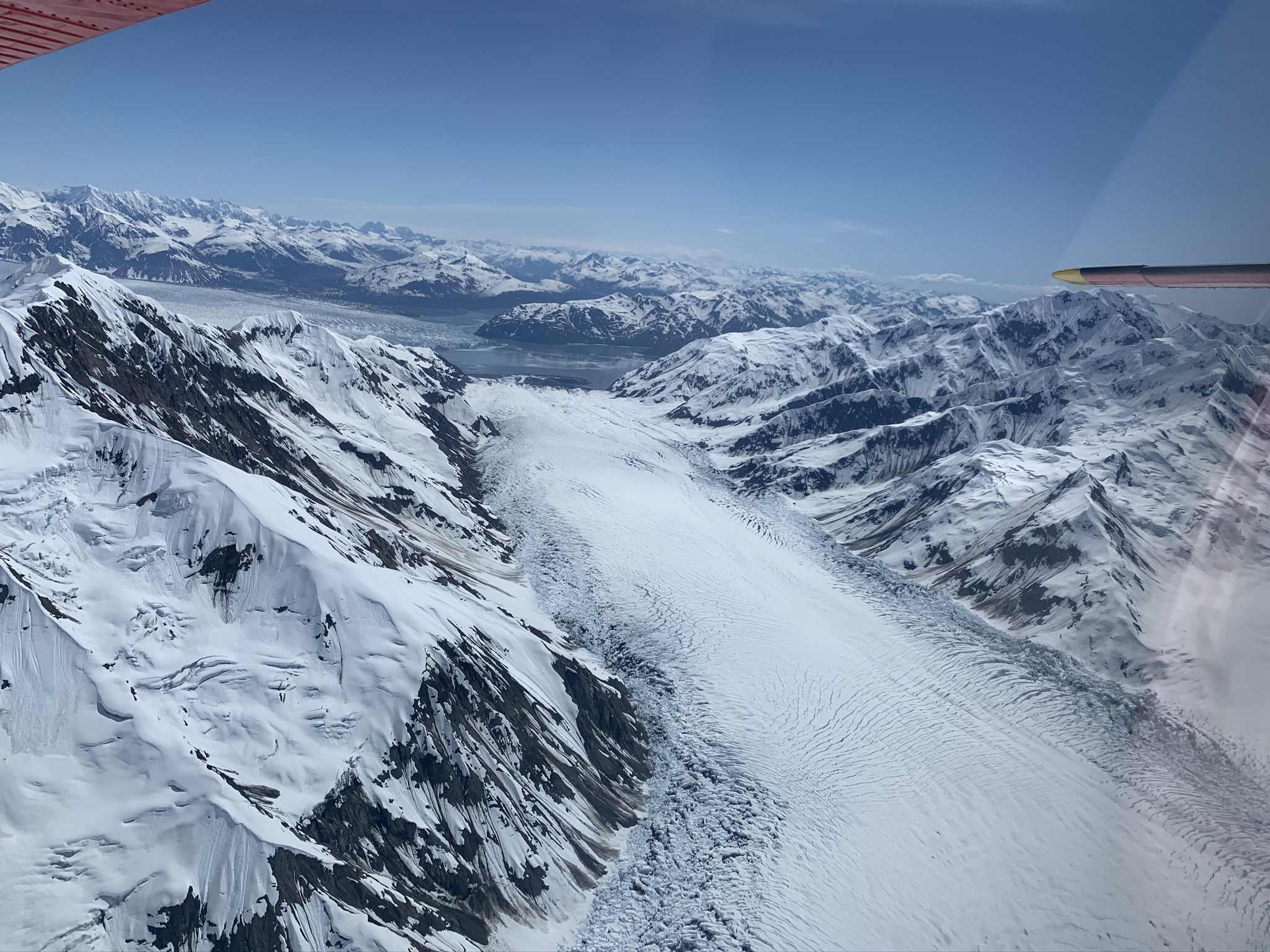 Turner Glacier from Helicopter