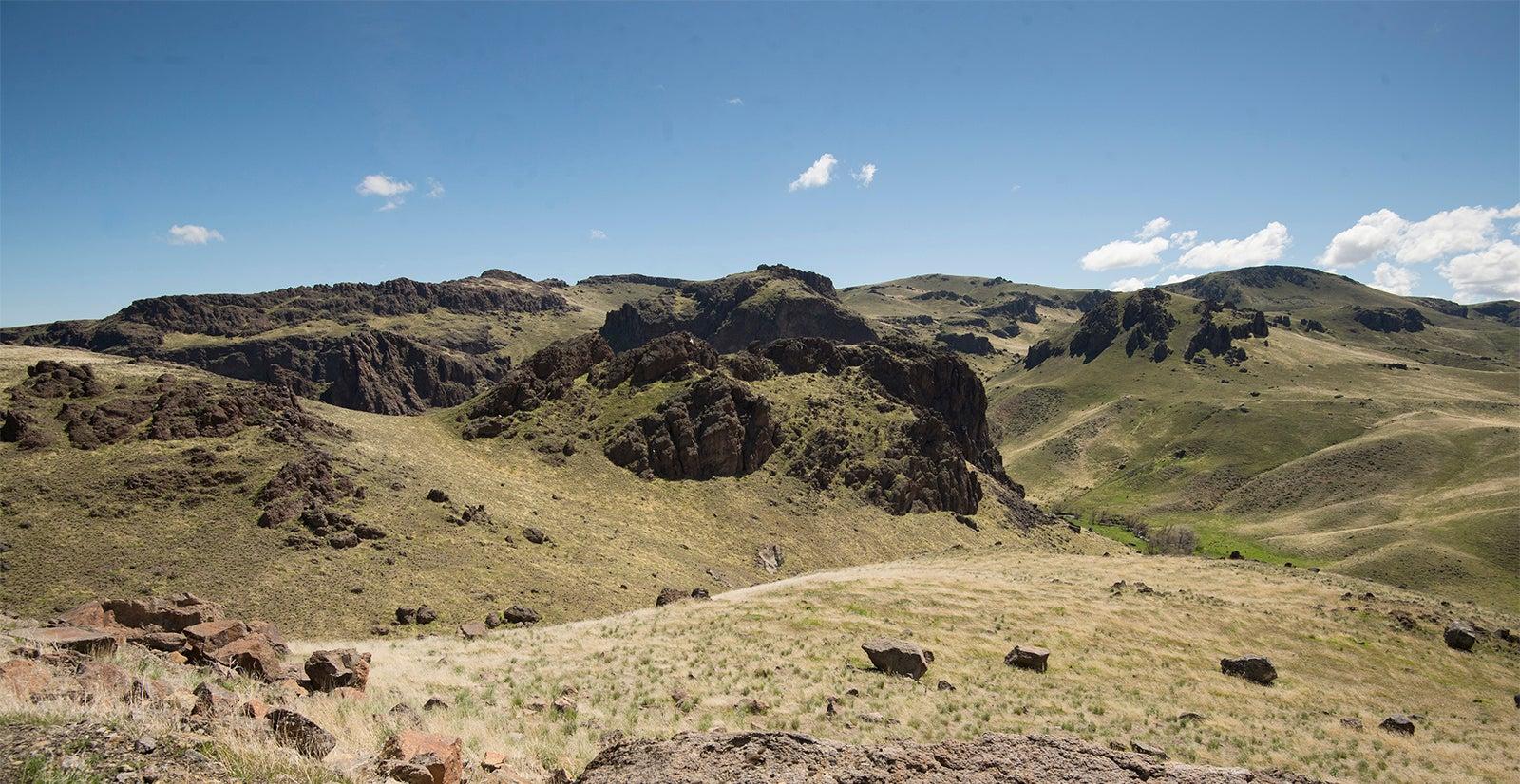 Owyhee front landscape