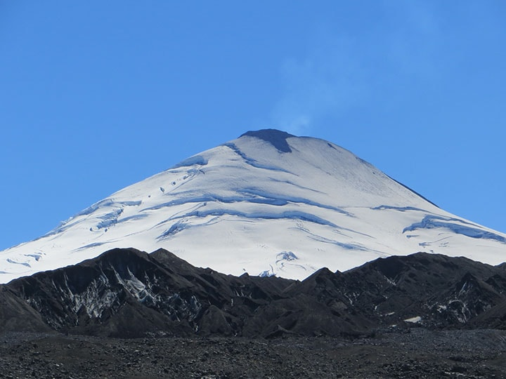 eruption of villarica volcano