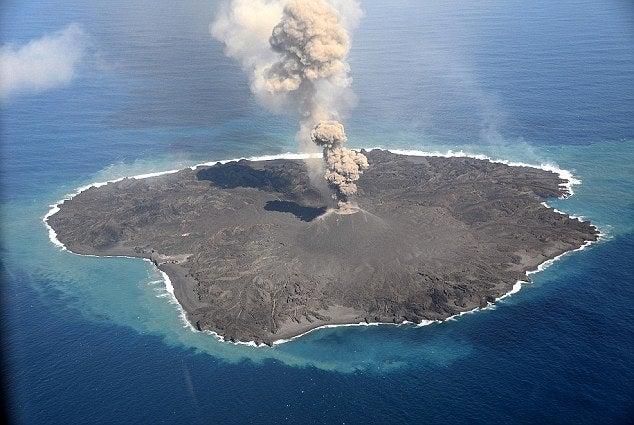 magma island