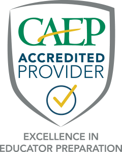 CAEP Accredited Shield