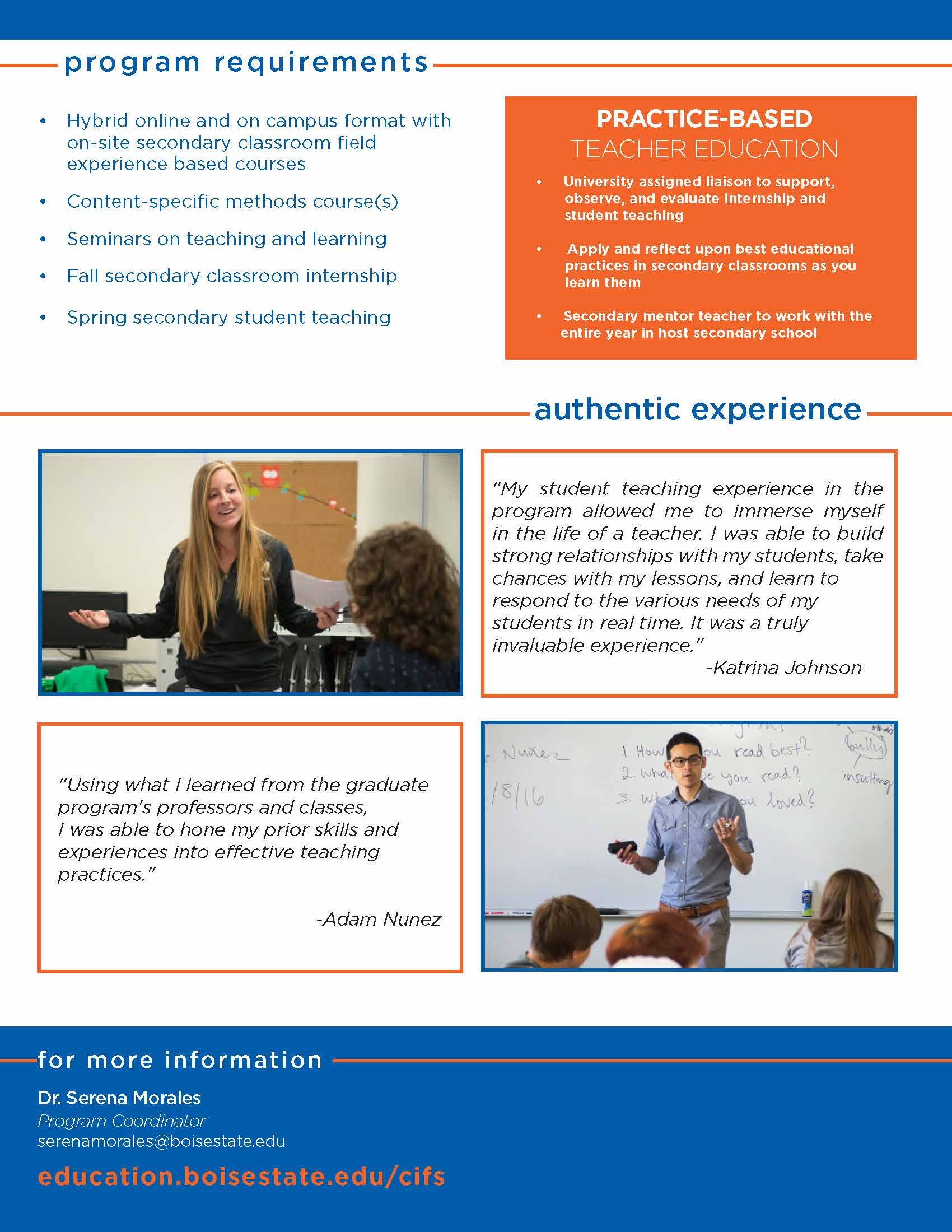 Visual Advising Guide for MIT Secondary, page 2