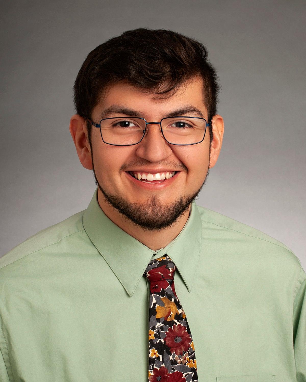 Eric Amador, 2020 McNair graduate