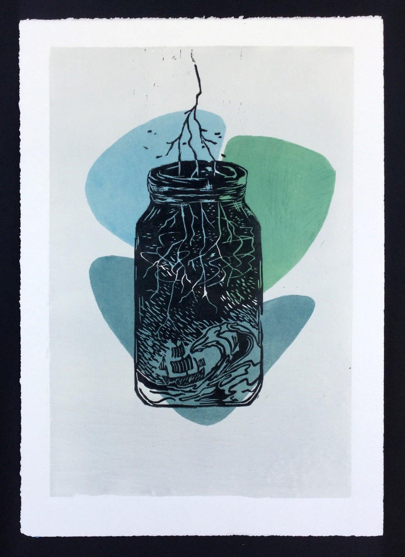 Keyra Faler art work titled Place of Purpose #1