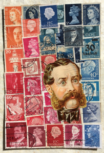 example of mail art