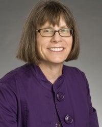Jane Grassley, Nursing, studio portrait
