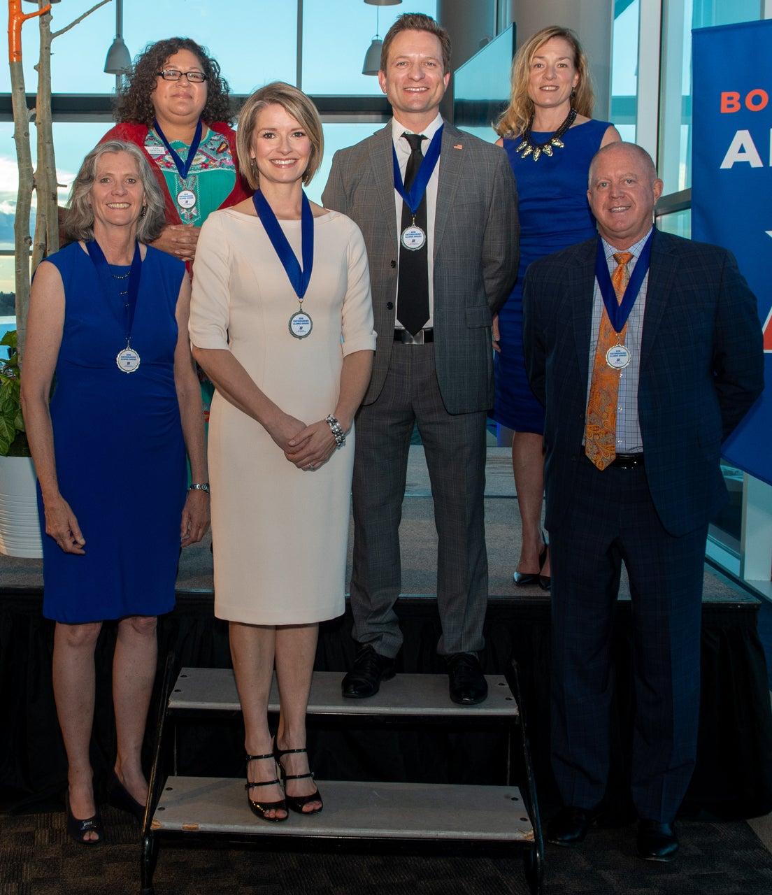 Distinguished Alumni, Stueckle Sky Center, Eric Torres Photos