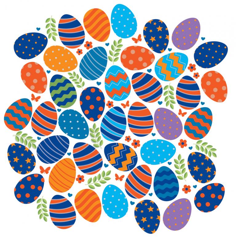 Boise State Easter Eggs