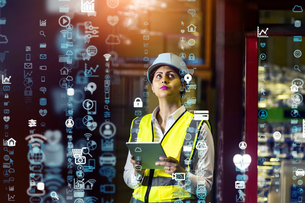 stock cybersecurity manufacturing photo