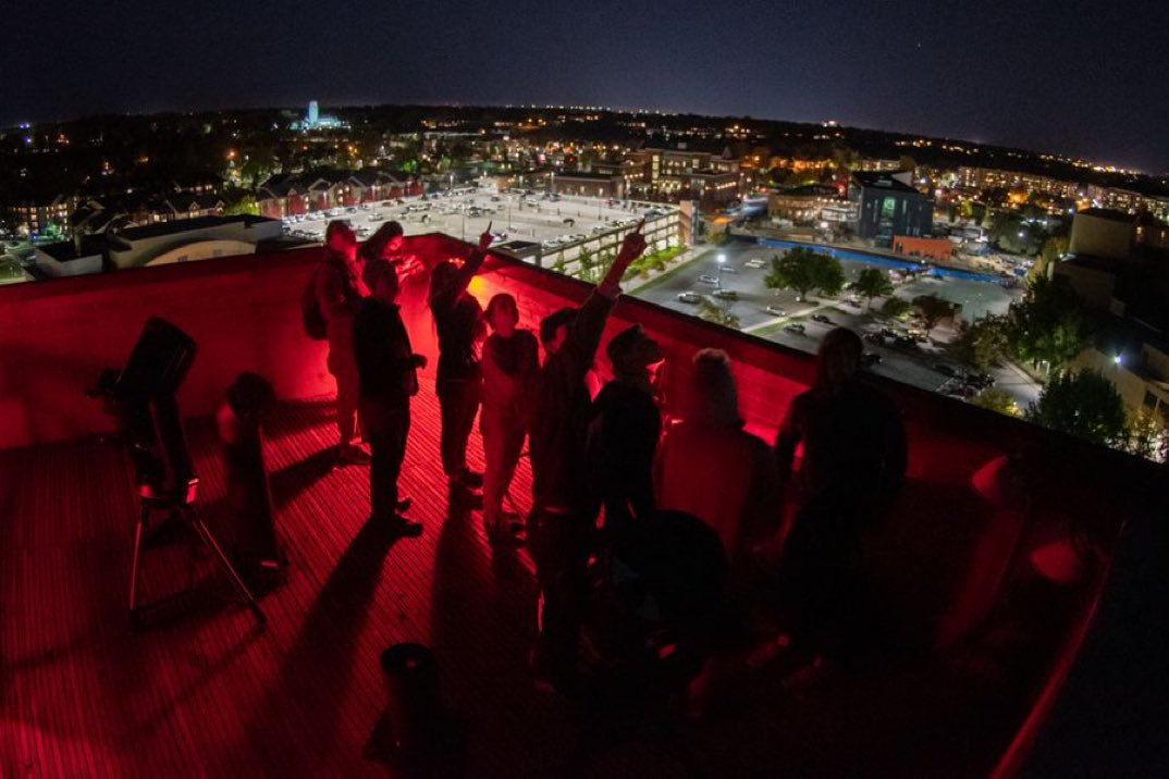 stargazing at boise state
