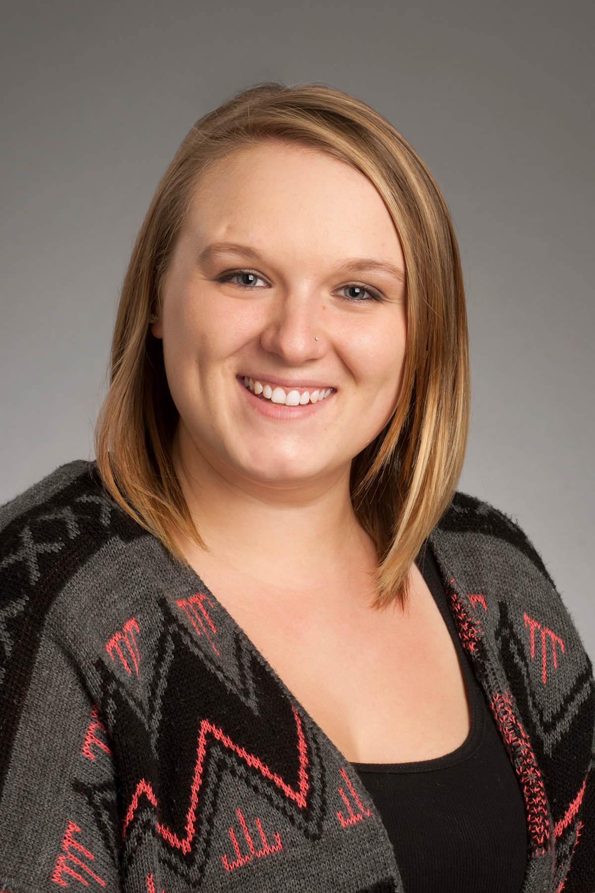Christy Hill, University Health Services, UHS, studio portrait