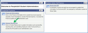 Peoplesoft Student Admin