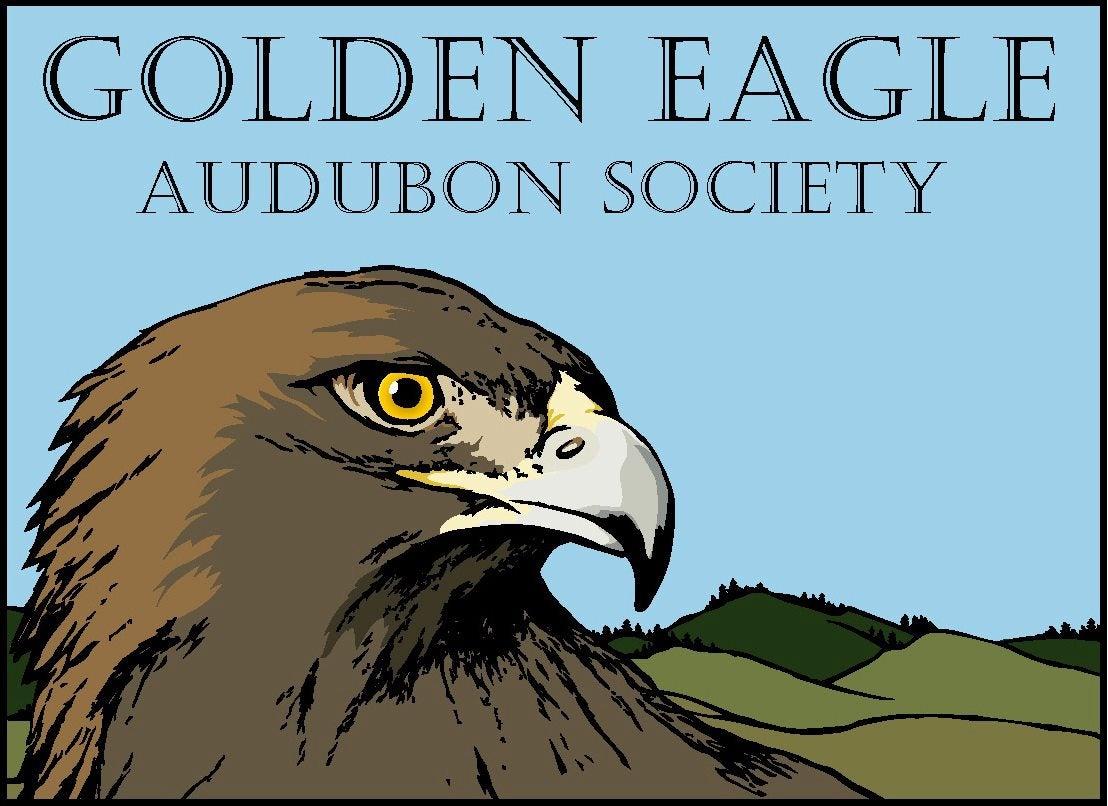 logo for the Golden Eagle Audubon Society