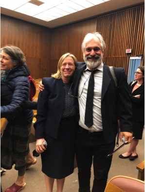 Claire Gilbert and Greg Hampikian