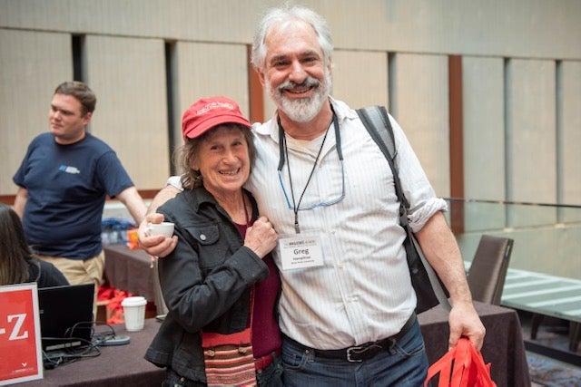 Claudia Whitman and Greg Hampikian