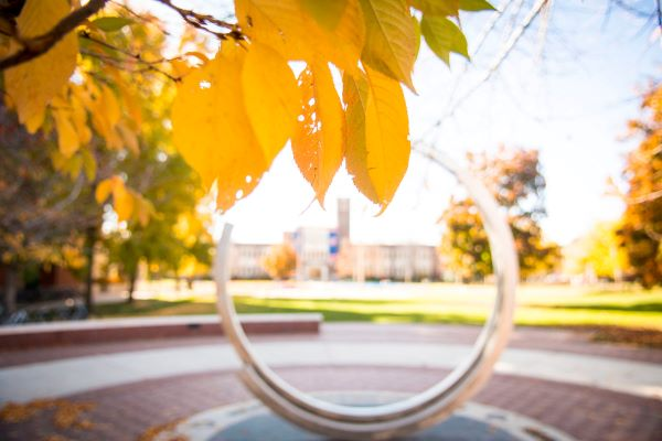 Campus Scenes, Fall, Kristen McPeek Photo