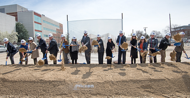 Micron Center for Materials Research groundbreaking