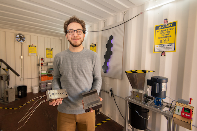 Making 3D printing more sustainable at the MakerLab - Boise State News