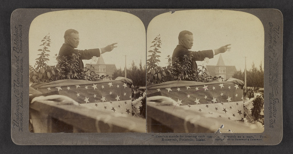 Theodore Roosevelt in Payette
