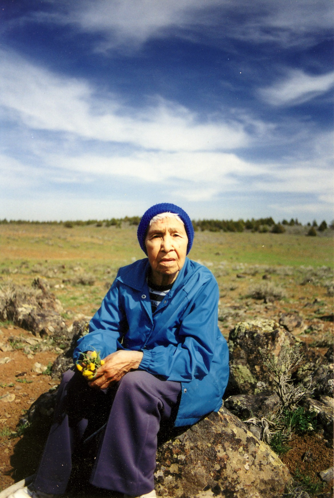Nepa Kennedy of Burns, Oregon.